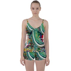 Matters Most 3 Tie Front Two Piece Tankini