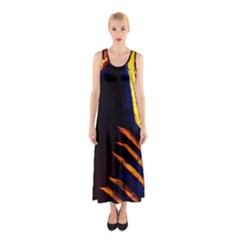 Cryptography Of The Planet 2 Sleeveless Maxi Dress