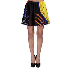 Cryptography Of The Planet 2 Skater Skirt