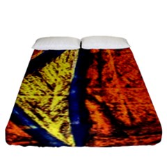 Cryptography Of The Planet 9 Fitted Sheet (king Size)