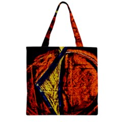 Cryptography Of The Planet 9 Zipper Grocery Tote Bag