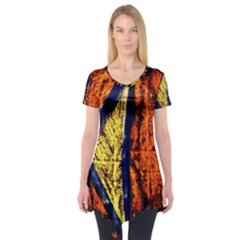 Cryptography Of The Planet 9 Short Sleeve Tunic