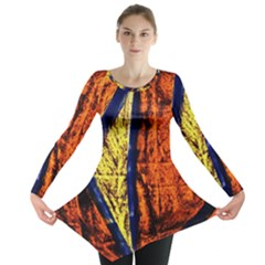 Cryptography Of The Planet 9 Long Sleeve Tunic