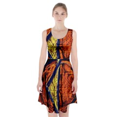 Cryptography Of The Planet 9 Racerback Midi Dress