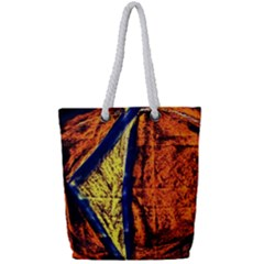 Cryptography Of The Planet 9 Full Print Rope Handle Tote (small)