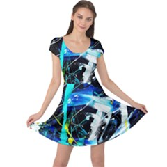 My Brain Reflecrion 1/1 Cap Sleeve Dress