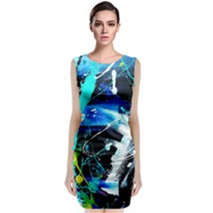 My Brain Reflecrion 1/1 Classic Sleeveless Midi Dress