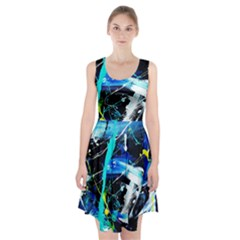 My Brain Reflecrion 1/1 Racerback Midi Dress