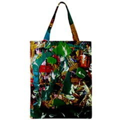 Oasis Zipper Classic Tote Bag