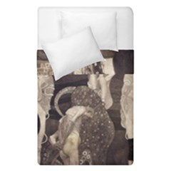 Jurisprudence   Gustav Klimt Duvet Cover Double Side (single Size)
