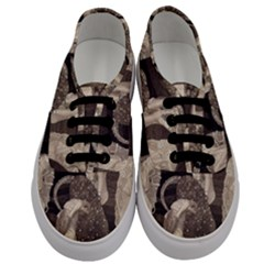 Jurisprudence   Gustav Klimt Men s Classic Low Top Sneakers