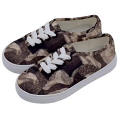 Jurisprudence   Gustav Klimt Kids  Classic Low Top Sneakers by Valentinaart