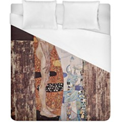 The Three Ages Of Woman  Gustav Klimt Duvet Cover (california King Size) by Valentinaart