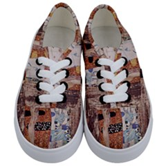 The Three Ages Of Woman  Gustav Klimt Kids  Classic Low Top Sneakers