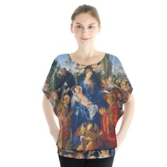 Feast Of The Rosary   Albrecht D¨1rer Blouse