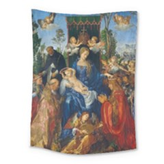 Feast Of The Rosary   Albrecht D¨1rer Medium Tapestry