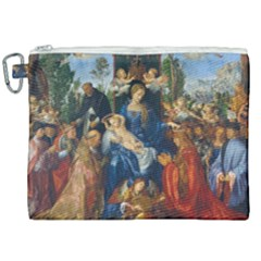 Feast Of The Rosary   Albrecht Dürer Canvas Cosmetic Bag (xxl) by Valentinaart