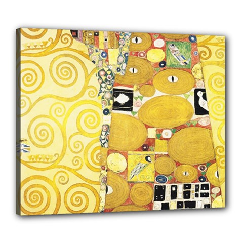 The Embrace   Gustav Klimt Canvas 24  X 20