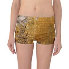 Adele Bloch Bauer I   Gustav Klimt Reversible Boyleg Bikini Bottoms