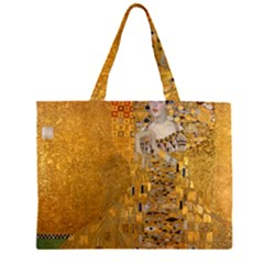 Adele Bloch Bauer I   Gustav Klimt Zipper Large Tote Bag