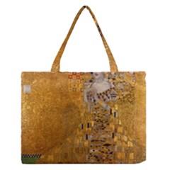 Adele Bloch Bauer I   Gustav Klimt Zipper Medium Tote Bag