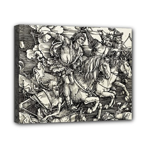 Four Horsemen Of The Apocalypse   Albrecht D¨1rer Canvas 10  X 8