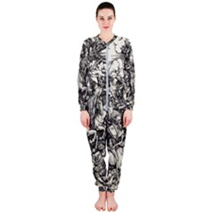 Four Horsemen Of The Apocalypse   Albrecht D¨1rer Onepiece Jumpsuit (ladies)