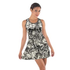 Four Horsemen Of The Apocalypse   Albrecht D¨1rer Cotton Racerback Dress
