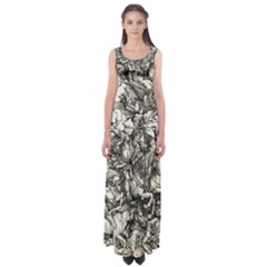 Four Horsemen Of The Apocalypse   Albrecht D¨1rer Empire Waist Maxi Dress