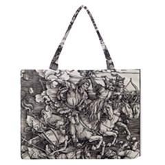 Four Horsemen Of The Apocalypse   Albrecht D¨1rer Zipper Medium Tote Bag