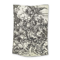 Four Horsemen Of The Apocalypse   Albrecht D¨1rer Small Tapestry