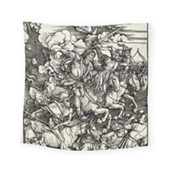 Four Horsemen Of The Apocalypse   Albrecht D¨1rer Square Tapestry (small)