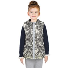 Four Horsemen Of The Apocalypse   Albrecht D¨1rer Kid s Hooded Puffer Vest