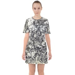 Four Horsemen Of The Apocalypse   Albrecht D¨1rer Sixties Short Sleeve Mini Dress
