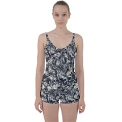 Four Horsemen Of The Apocalypse   Albrecht D¨1rer Tie Front Two Piece Tankini