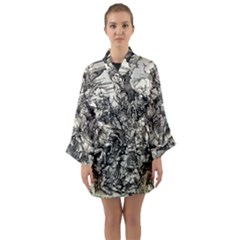 Four Horsemen Of The Apocalypse   Albrecht D¨1rer Long Sleeve Kimono Robe