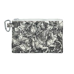 Four Horsemen Of The Apocalypse   Albrecht D¨1rer Canvas Cosmetic Bag (medium)