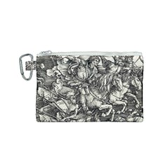 Four Horsemen Of The Apocalypse   Albrecht D¨1rer Canvas Cosmetic Bag (small)