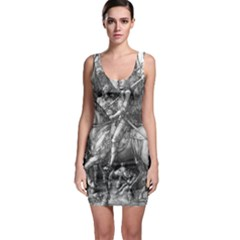 Death And The Devil   Albrecht D¨1rer Bodycon Dress