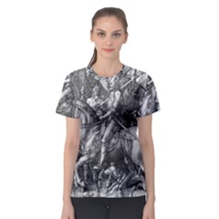 Death And The Devil   Albrecht D¨1rer Women s Sport Mesh Tee