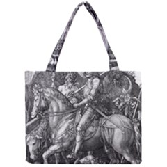 Death And The Devil   Albrecht D¨1rer Mini Tote Bag