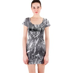 Death And The Devil   Albrecht D¨1rer Short Sleeve Bodycon Dress