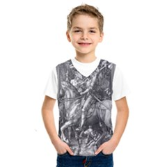 Death And The Devil   Albrecht D¨1rer Kids  Sportswear