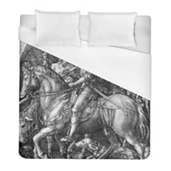Death And The Devil   Albrecht D¨1rer Duvet Cover (full/ Double Size)