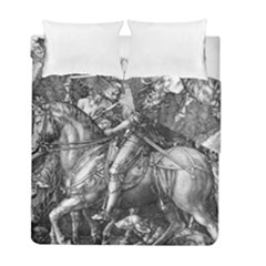Death And The Devil   Albrecht D¨1rer Duvet Cover Double Side (full/ Double Size)