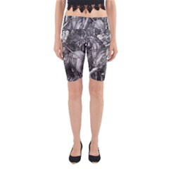 Death And The Devil   Albrecht D¨1rer Yoga Cropped Leggings