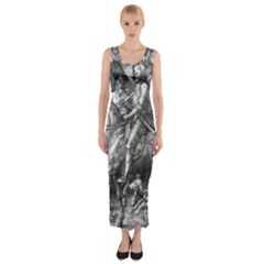 Death And The Devil   Albrecht D¨1rer Fitted Maxi Dress