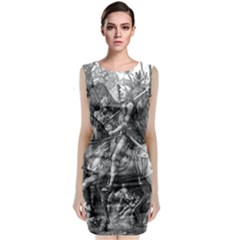 Death And The Devil   Albrecht D¨1rer Classic Sleeveless Midi Dress