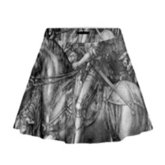 Death And The Devil   Albrecht D¨1rer Mini Flare Skirt