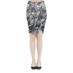 Death And The Devil   Albrecht D¨1rer Midi Wrap Pencil Skirt